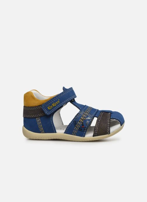 Sandalen Kickers Bonus blau ansicht von hinten