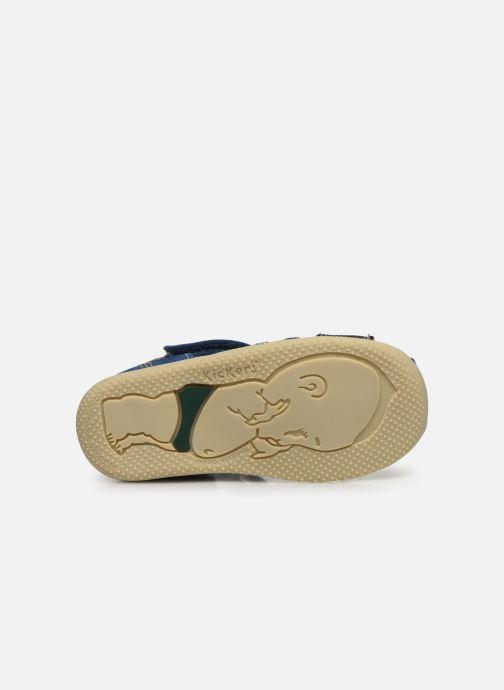 Sandalen Kickers Bonus blau ansicht von oben