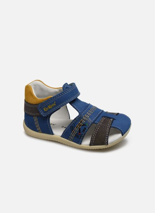 Sandalen Kickers Bonus blau detaillierte ansicht/modell