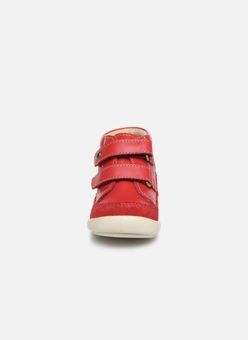 Bottines et boots Kickers Kimono Rouge vue portées chaussures