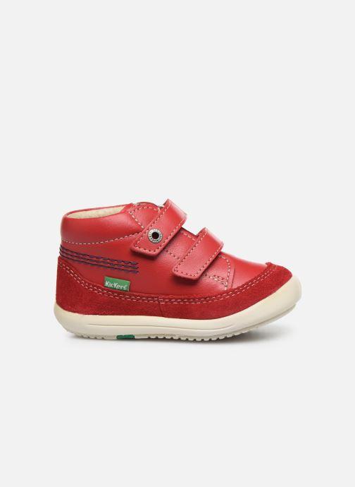 Bottines et boots Kickers Kimono Rouge vue derrière