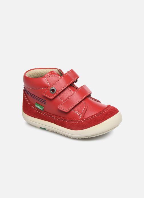 Bottines et boots Kickers Kimono Rouge vue détail/paire