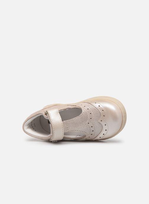 Ballerina's Kickers Taratata Zilver links
