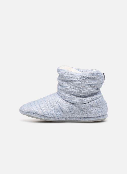 Chaussons Sarenza Wear Chaussons boots bleu Femme Bleu vue face