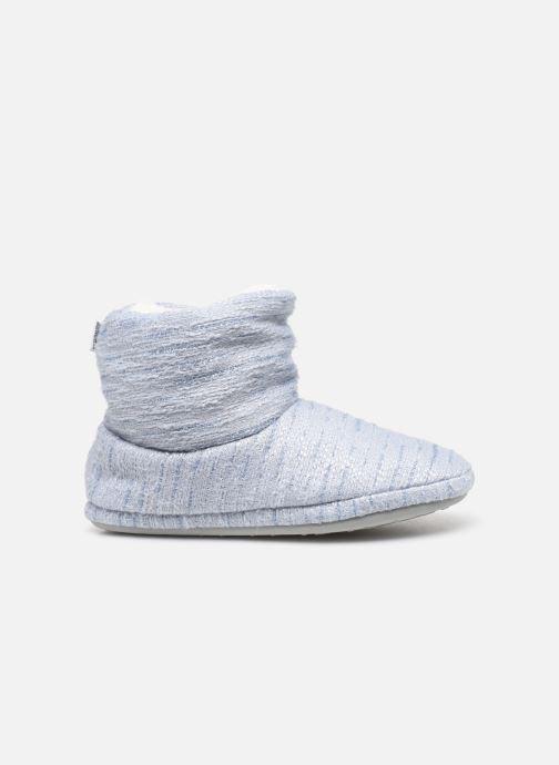 Pantofole Sarenza Wear Chaussons boots bleu Femme Azzurro immagine posteriore