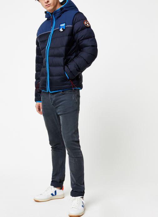 Vêtements Napapijri Aric Bleu vue bas / vue portée sac