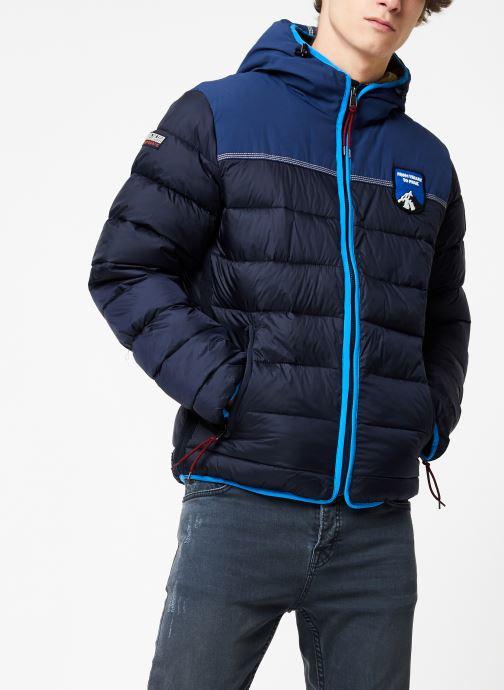 Vêtements Napapijri Aric Bleu vue droite