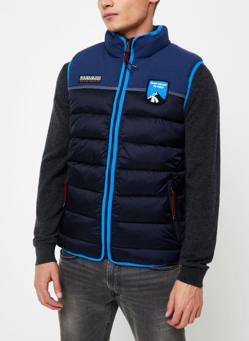 Vêtements Napapijri Aric Vest Bleu vue détail/paire