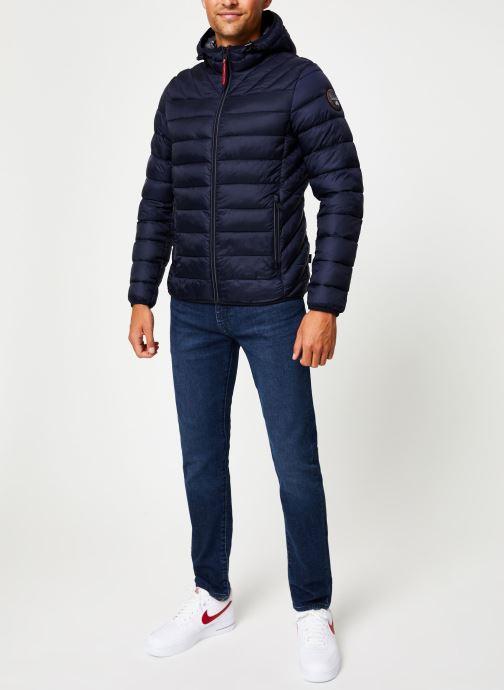 Vêtements Napapijri Aerons Hood Bleu vue bas / vue portée sac