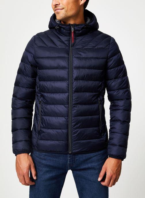 Vêtements Napapijri Aerons Hood Bleu vue droite