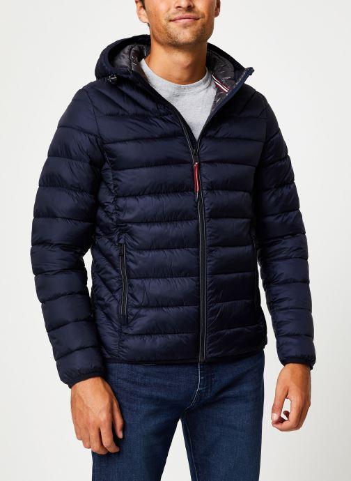 Vêtements Napapijri Aerons Hood Bleu vue détail/paire