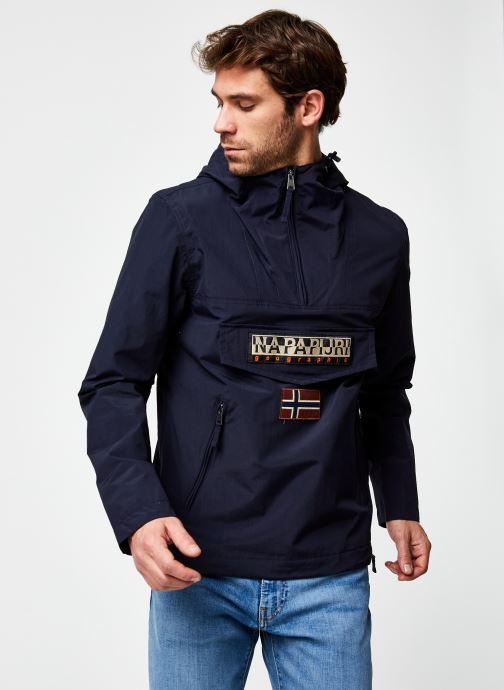 Vêtements Napapijri Rainforest Pocket M Bleu vue droite