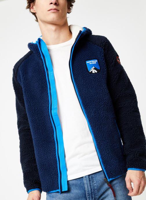 Vêtements Napapijri Yupik FZH Bleu vue détail/paire