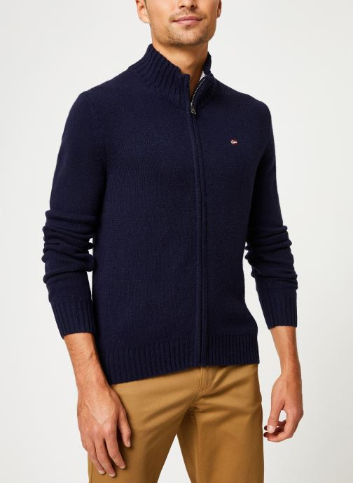 Vêtements Napapijri Dain FZ Bleu vue droite
