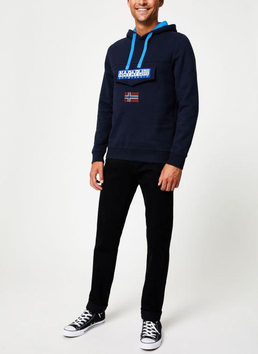 Vêtements Napapijri Burgee Bleu vue bas / vue portée sac