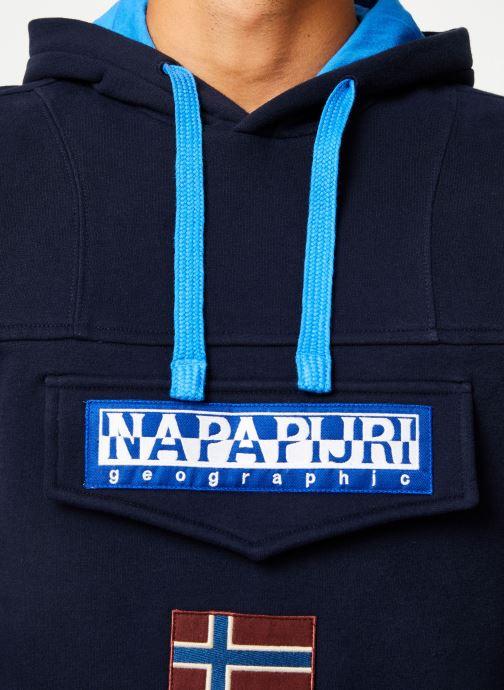 Vêtements Napapijri Burgee Bleu vue face