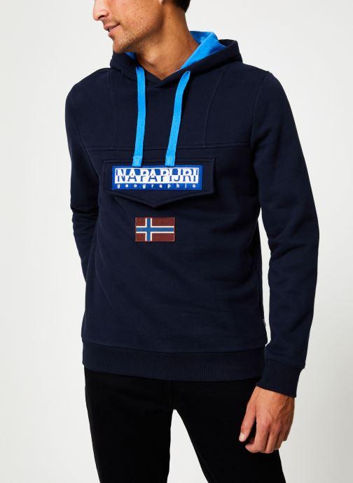 Vêtements Napapijri Burgee Bleu vue détail/paire