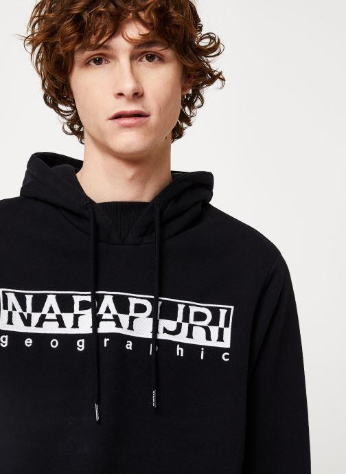 Vêtements Napapijri Berber H Noir vue face