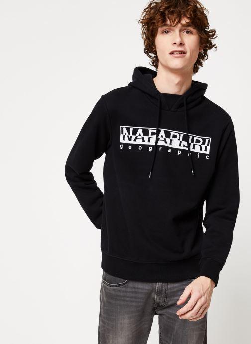 Vêtements Napapijri Berber H Noir vue droite