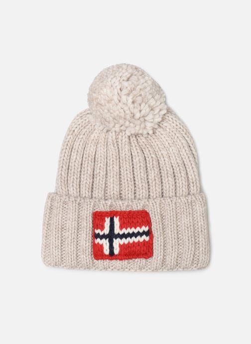 Bonnets Napapijri Semiury 2 Blanc vue détail/paire