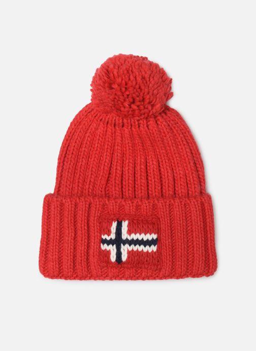 Bonnets Napapijri Semiury 2 Rouge vue détail/paire