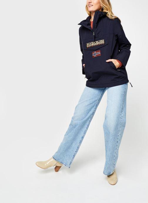 Vêtements Napapijri Rainforest Pocket W Bleu vue bas / vue portée sac