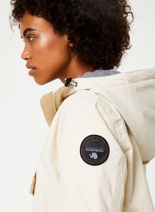 Vêtements Napapijri Rainforest Pocket W Blanc vue face
