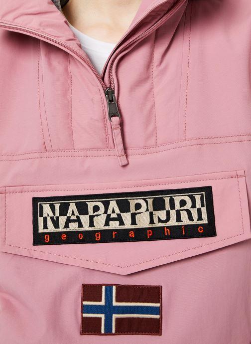 Vêtements Napapijri Rainforest Pocket W Rose vue face