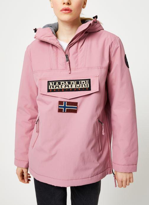 Vêtements Napapijri Rainforest Pocket W Rose vue détail/paire