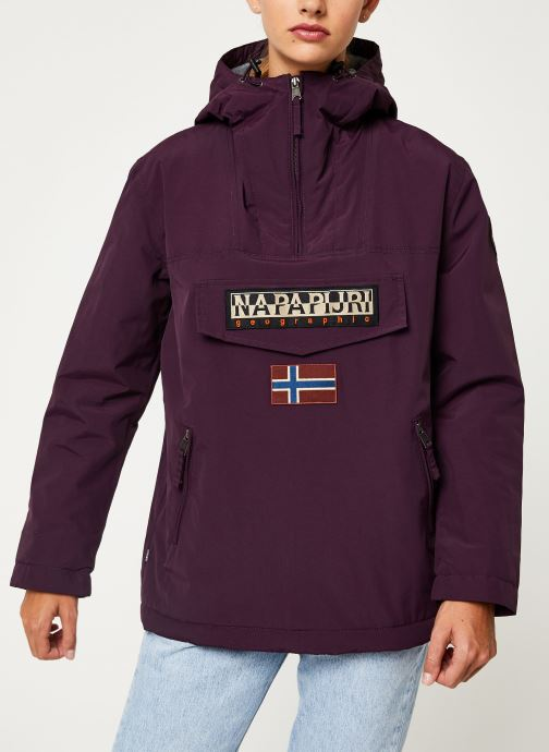 Vêtements Napapijri Rainforest Pocket W Violet vue droite