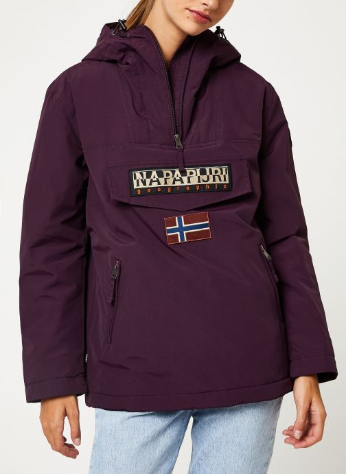 Vêtements Napapijri Rainforest Pocket W Violet vue détail/paire