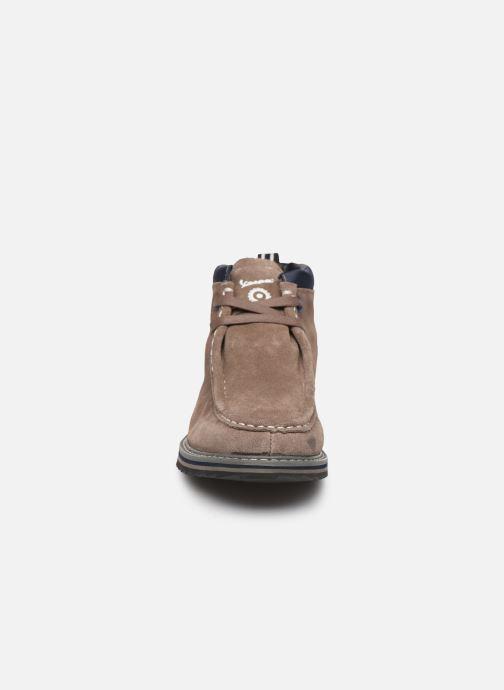 Bottines et boots Vespa Carnaby C Gris vue portées chaussures