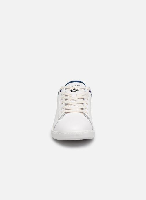 Baskets Vespa Festival C Blanc vue portées chaussures