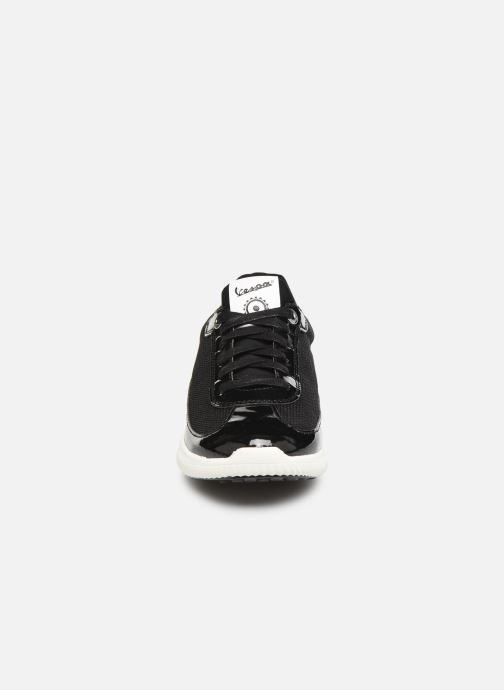 Baskets Vespa Supersport C Noir vue portées chaussures