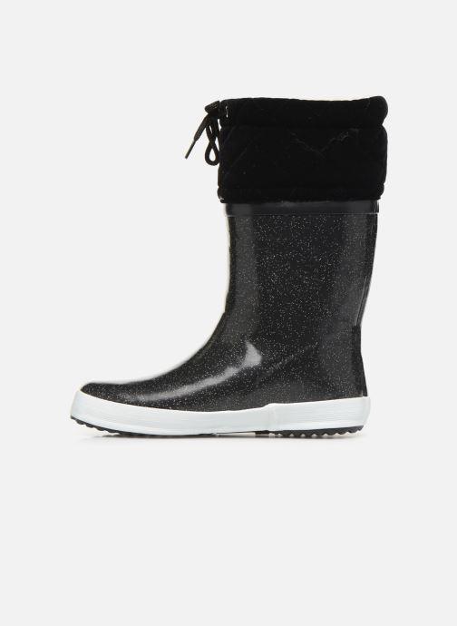 Støvler & gummistøvler Aigle Giboulée Print Sort se forfra