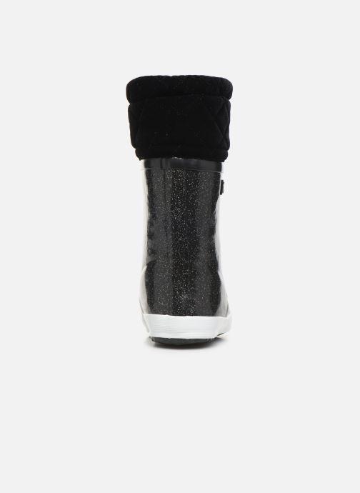 Stiefel Aigle Giboulée Print schwarz ansicht von rechts