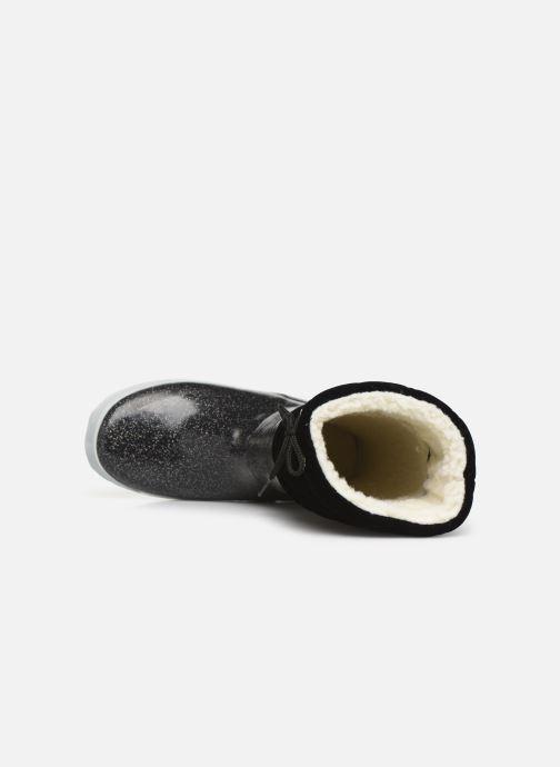 Bottes Aigle Giboulée Print Noir vue gauche
