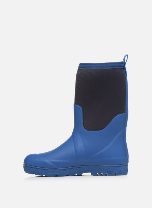 Boots & wellies Aigle Woody Cross Blue front view