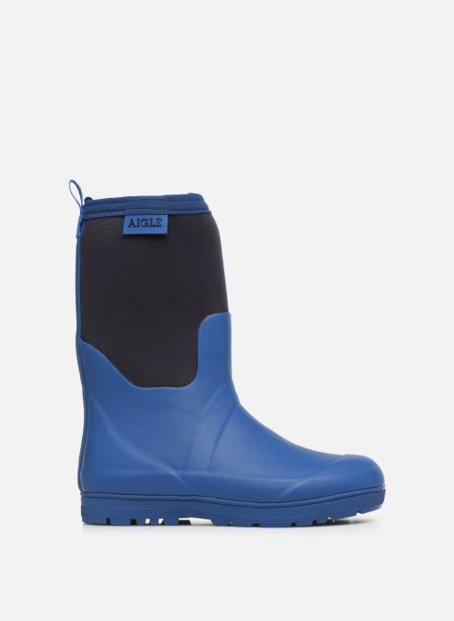 Boots & wellies Aigle Woody Cross Blue back view