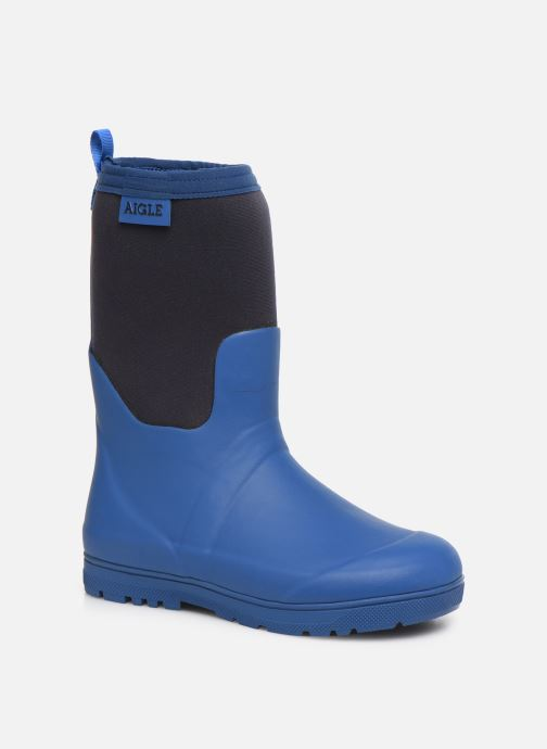 Boots & wellies Aigle Woody Cross Blue detailed view/ Pair view