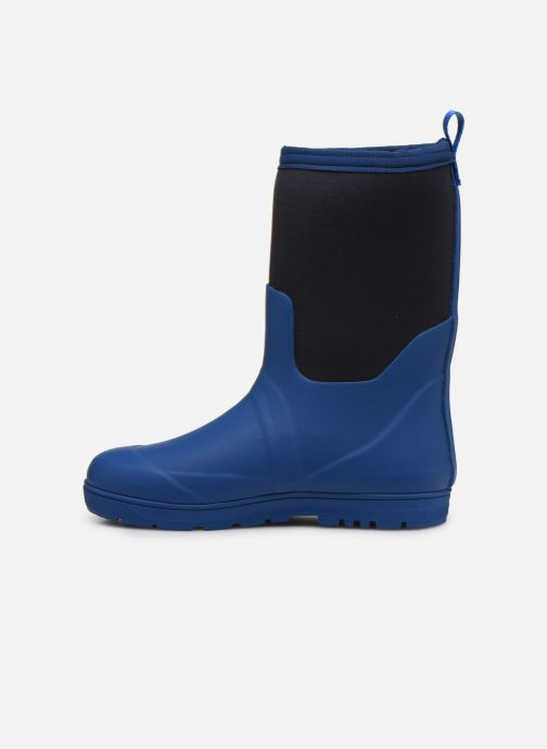 Botas Aigle Woody Cross Azul vista de frente