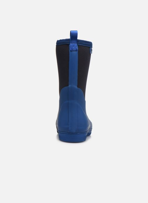 Botas Aigle Woody Cross Azul vista lateral derecha