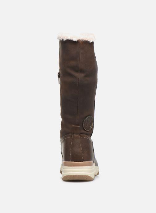 Scarpe sportive Kimberfeel Kiana Marrone immagine destra