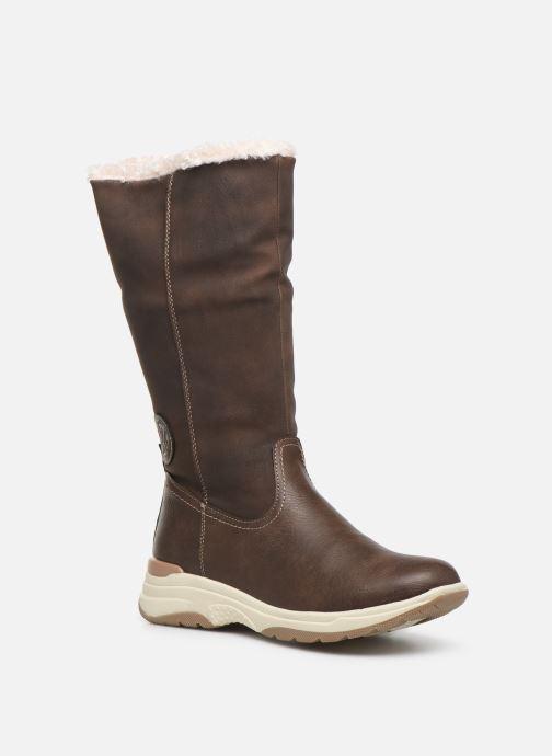 Chaussures de sport Kimberfeel Kiana Marron vue détail/paire
