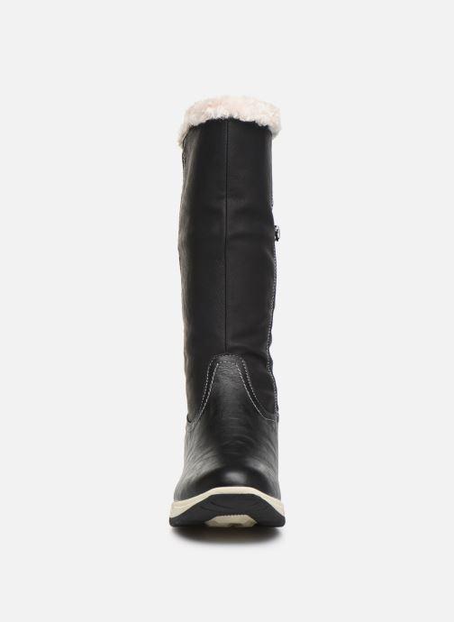 Chaussures de sport Kimberfeel Kiana Noir vue portées chaussures