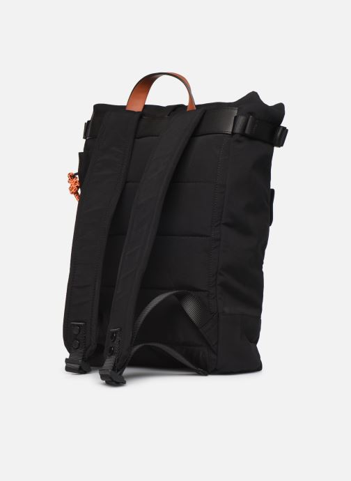 Rucksacks ECOALF MULTIPOCKET BACKPACK Black view from the right