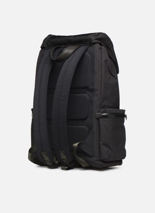 Rucksacks ECOALF WILD SHERPA BACKPACK Black view from the right