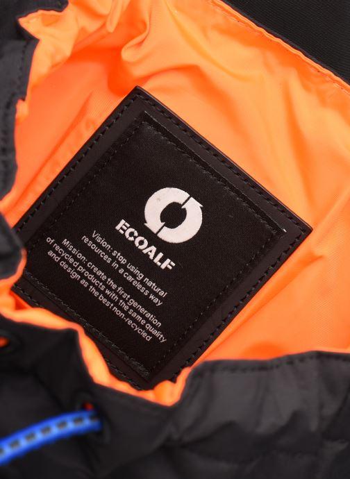 Rucksacks ECOALF WILD SHERPA BACKPACK Black back view