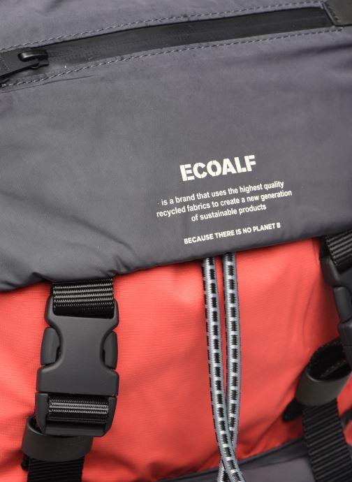 Rucksäcke Ecoalf WILD SHERPA BACKPACK rot ansicht von links