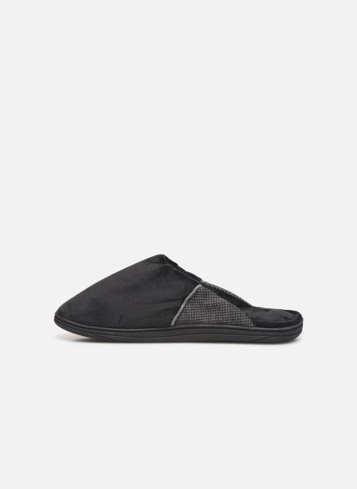 Slippers Dim D ABBOU Black front view